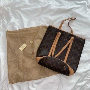 Louis Vuitton vertical shoulder bag
